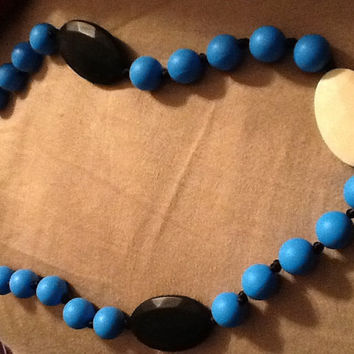 Silicone teething chew necklace