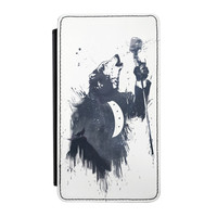 Wolf Song 3 Premium Faux PU Leather Case Flip Case for Samsung Galaxy Note 3 by Balazs Solti