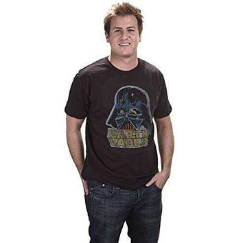 Mens Junk Food Retro Star Wars Darth Vader T-Shirt Size Small