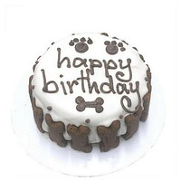 Classic Canine Cake — White