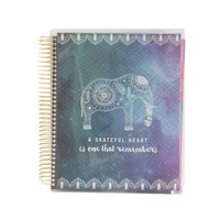Boho Elephant Spiral Yearly Planner