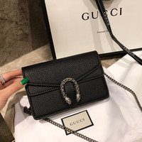 GUCCI Dionysus leather mini bag