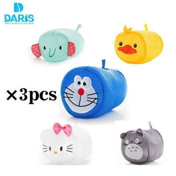 Cute Cartoon Convenient Bra Lingerie Wash Laundry Bags Home Using Clothes Washing Net Laundry Saver
