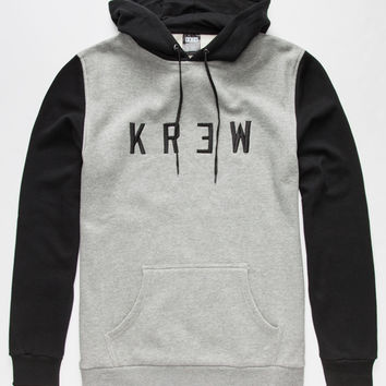 Kr3w Locker Box Mens Hoodie Heather Black  In Sizes