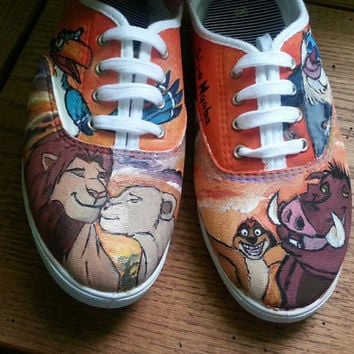 Custom Shoes- Tom's Vans or Converse Any Design