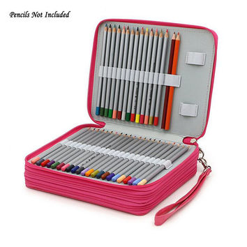 Large Capacity Pencil Bag For Colored Pencils