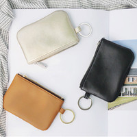 Seeso The classique key ring coin case wallet holder