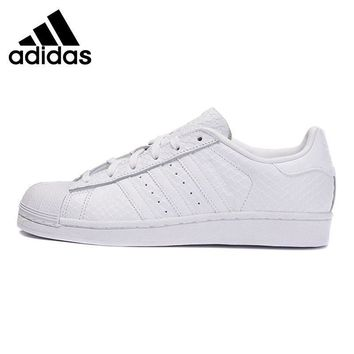 Original New Arrival Adidas Originals Superstar w Women's Skateboarding Shoes Sneaker