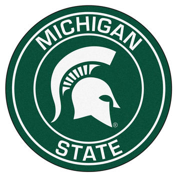 Michigan State Spartans NCAA Rounded Floor Mat (29in)