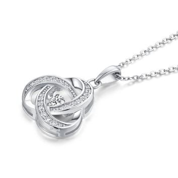 Women's Trinity Sterling Silver Necklace