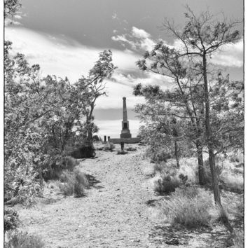 Boot Hill 8 x 12 fine art print 8 x 12 black and white 8 x 12 ghost town graveyard 8 x 12 wall art