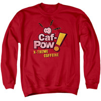 NCIS/STRANGE - ADULT CREWNECK SWEATSHIRT - RED -