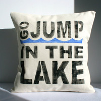 Lake House Pillow