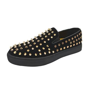 Punk Studded Rivets Sneakers