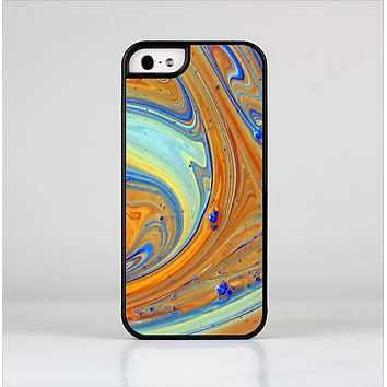The Colorful Wet Paint Mixture Skin-Sert Case for the Apple iPhone 5/5s