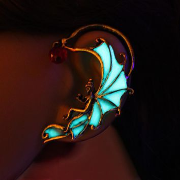 GLOW in the DARK Angel Ear Fairy Cuff