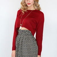 Bridget High Waist Skirt - Black