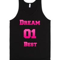 Best Friend Shirts - Dream Team-Unisex Black Tank