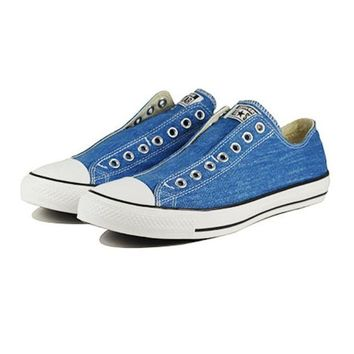 VONE5FW Converse: Chuck Taylor Slip On Vision Blue Sneaker