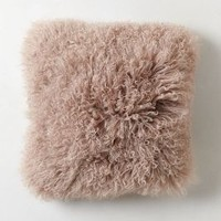 Luxe Fur Pillow by Anthropologie