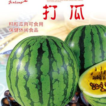 1 pack 20pcs watermelon seeds, Fruit Seeds Diy Plant Home Garden Fruit And Vegetable Seeds Sweet Watermelon Free shipping