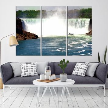 52394 - Horseshoe Falls Wall Art Canvas Print