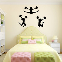 Cheerleaders Vinyl Wall Decal Sticker Graphic