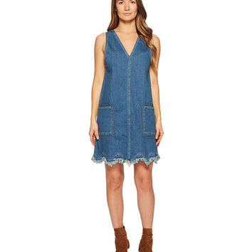 See by Chloe Denim Scallop Dress