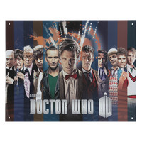 Doctor Who Collage Tin Sign