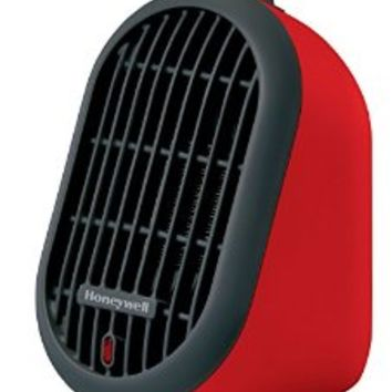 Honeywell HCE100R Heat Bud Ceramic Heater, Red