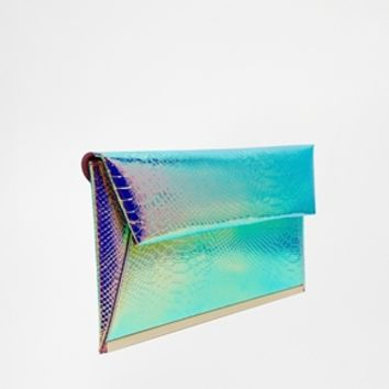 New Look Mermaid Clutch Bag at asos.com