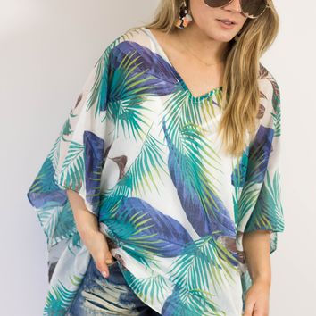 Tropics Queen Coverup