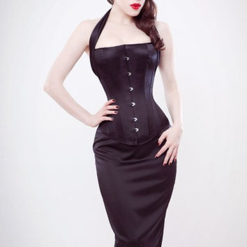 70-m2065trg3 Long line overbust corset