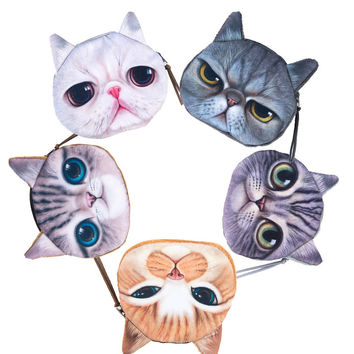 Cute Animal Coin Purse 5 Pack