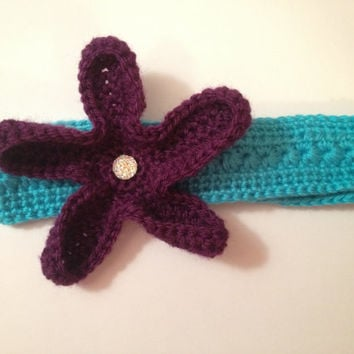 Over-sized Starfish Headband - Any color & Size Available