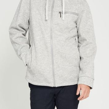 Tacoma Waterproof Sweater Knit Hoodie in Grey