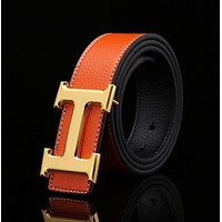 HOT HERMES BELTS MEN'S WOMEN'S REAL LEATHER BELTS