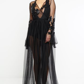 Janice Gown - Black