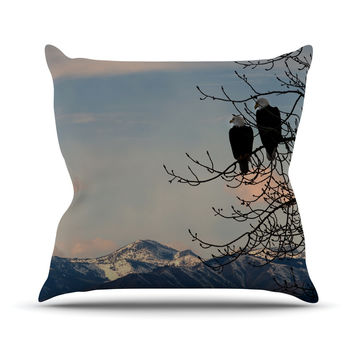 "Robin Dickinson ""Majesty"" Nature Landscape Throw Pillow"