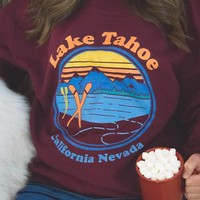 Lake Tahoe Crewneck Sweatshirt
