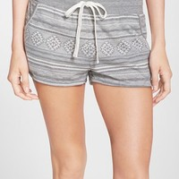 Women's PJ Salvage 'Weekend Festival' Lounge Shorts,