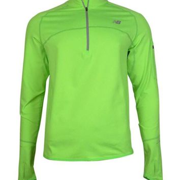 DCCK1IN new balance men s big tall heat quarter zip running pullover