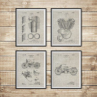 Harley Wall Print, Patent Print Group, Model JD Poster, Harley Art Print, Harley Printable, Harley Wall Decor, Harley Art, INSTANT DOWNLOAD