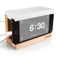 Snooze iPhone Alarm Dock by distilunion for distilunion - Free Shipping