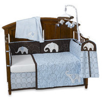 Carter''s?- Blue Elephant Crib Bedding & Accessories - buybuy BABY