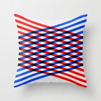 View 01. Throw Pillow by Three of the Possessed