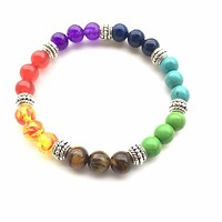 7 Chakra Bracelets Bangle for Women
