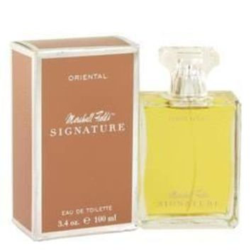 Marshall Fields Signature Oriental Eau De Toilette Spray (Scratched box) By Marshall Fields