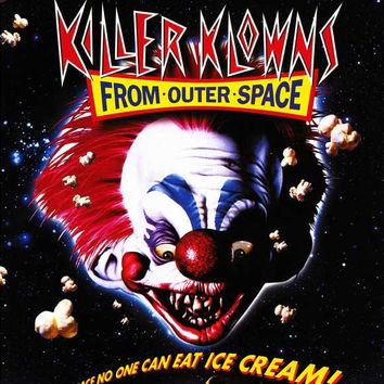 Killer Klowns From Outer Space 11x17 Movie Poster (1988)