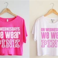 On Wednesdays We Wear PINK!